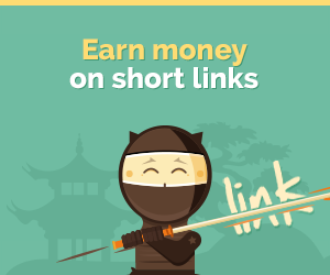 Mendapatkan Uang Melalui Link Shorter Di blog